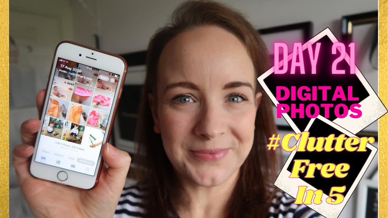 Day 21 of the #ClutterFreein5 Challenge | Decluttering Digital Photos